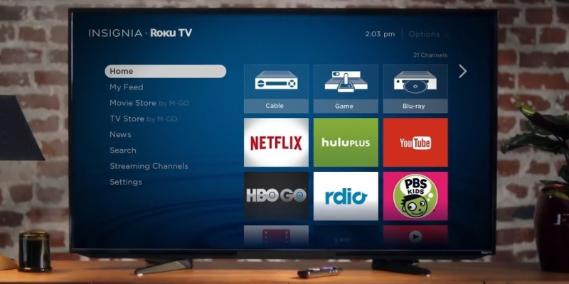 Insignia Roku TV 4K Ultra HD 55-Inch - Buyer's Guide: the best smart TVs for any budget