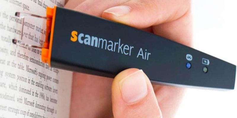 ScanMarker Air Digital Highlighter Pen - Smart stationery that will make you want to work