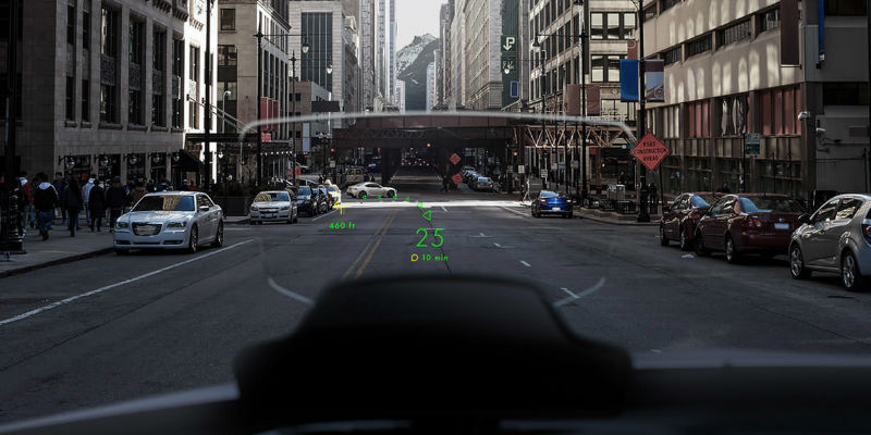 4 Heads-up displays for a smarter driving experience - NAVION Augmented Reality Car HUD