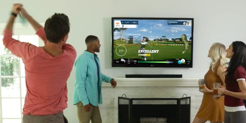 virtual golf - Love golf? You need to try the new Phigolf simulator