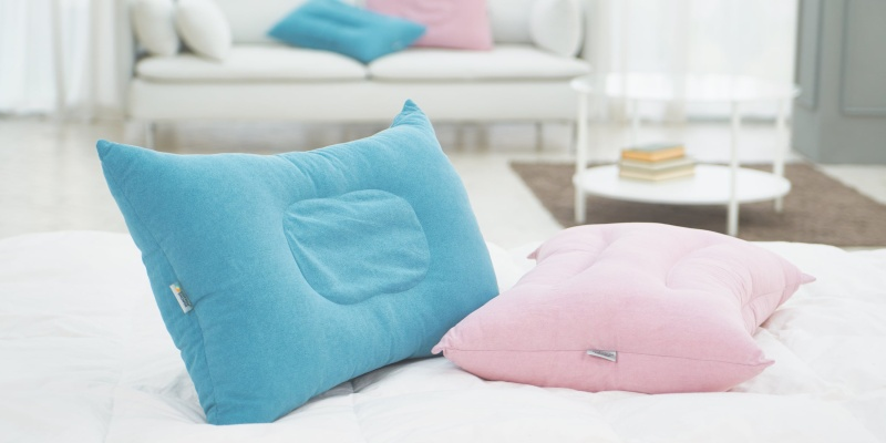 neck support - Expect to be comfortable with the Cotton Shower Pillow