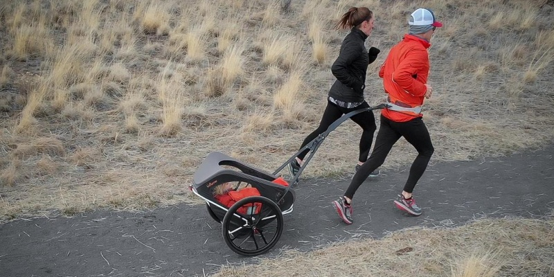 KidRunner High-Performance Jogging Stroller - Holiday gift guide - The best gifts for busy parents
