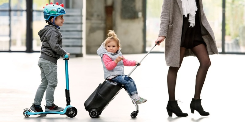 Micro Lazy Luggage Smart Travel Companion - Holiday gift guide - The best gifts for busy parents