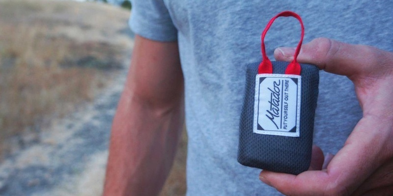 Matador Mini Pocket Blanket - Holiday gift guide - the best stocking stuffers