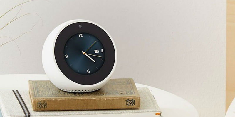 10 Smart living gadgets to start your day off right - Amazon Echo Spot Alexa Alarm Clock