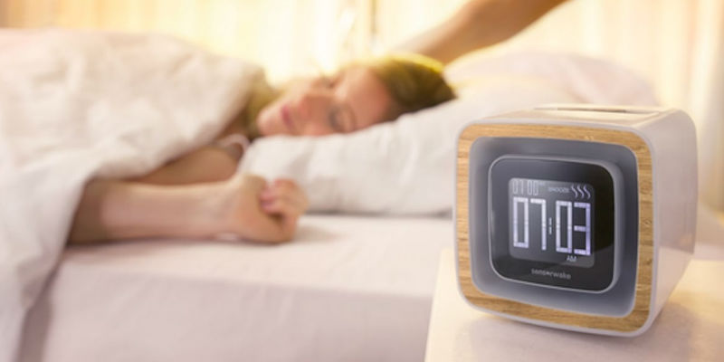 10 Smart living gadgets to start your day off right - Sensorwake Trio Smell-Based Alarm Clock