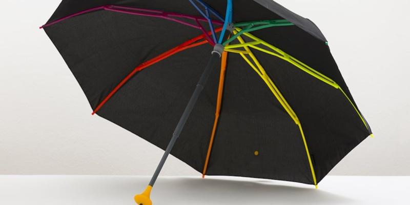 travel umbrella - The lightweight Pluvi umbrella is surprisingly strong