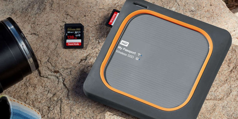 My Passport Wireless Shock-Resistant SSD - - Smart photography gear that every snapper should see