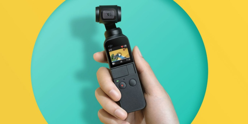 DJI Osmo Pocket Compact Smart Camera - Smart photography gear that every snapper should see