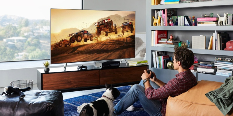 Samsung Q9F QLED 4K TV (2018) - 7 Gaming TVs that will give a better view of the action
