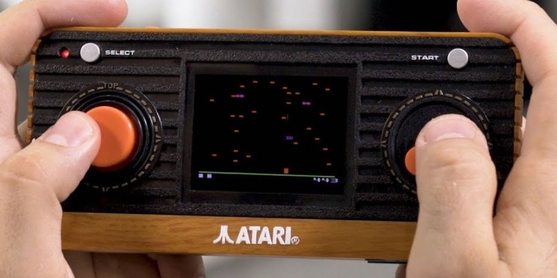Atari Retro Handheld Console - Holiday gift guide – Gift ideas under $50