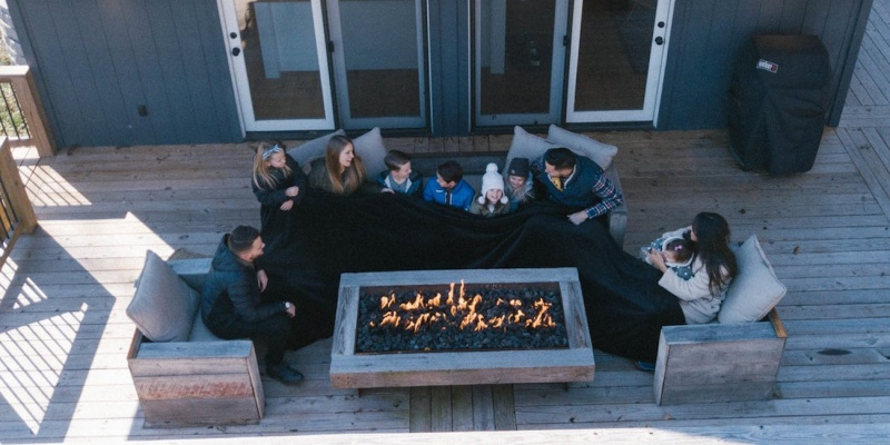 enormous blanket - Your whole family will be cozy under the Big Blanket