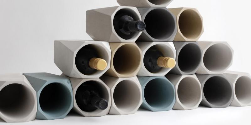 Corvi Concrete Wine Cooler - Wine accessories that will make you reach for a glass