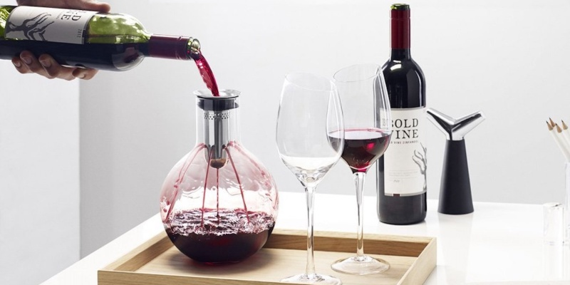Eva Solo Aerating Glass Wine Decanter - Wine accessories that will make you reach for a glass