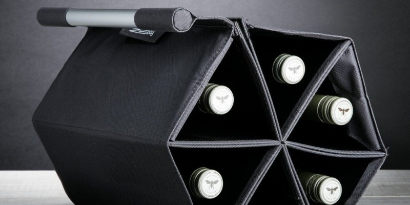ZEbag Wine Carrier - Wine accessories that will make you reach for a glass