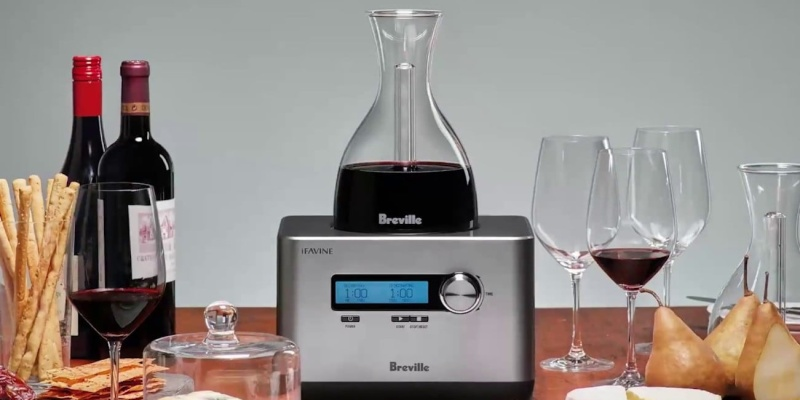 Breville Sommelier Smart Wine Oxygenator - Wine accessories that will make you reach for a glass