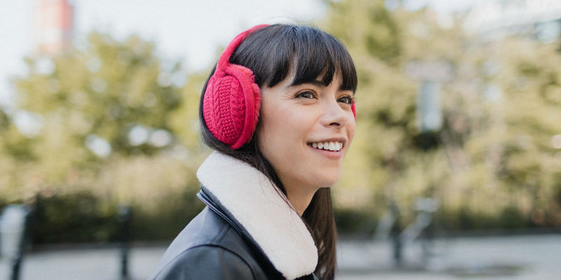 9 Essentials for your winter weekend getaway - Sound Huggle Wireless Headphone Earmuffs