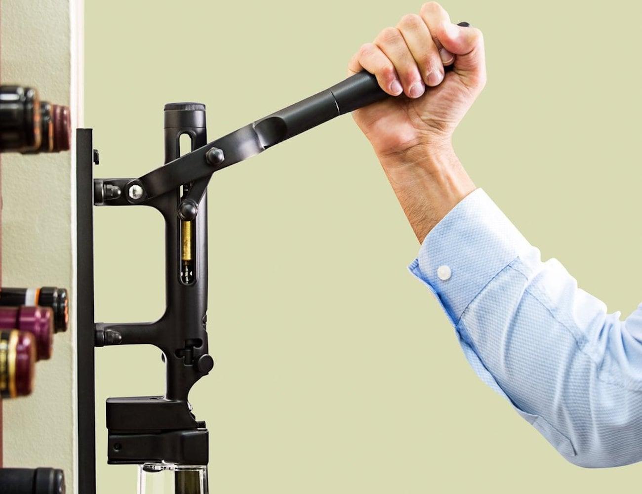 BOJ Professional Wall-Mounted Corkscrew