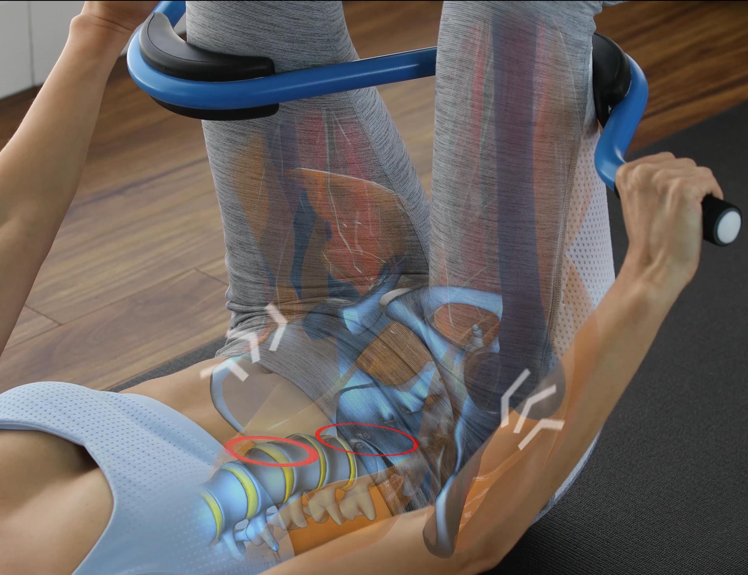 Back Pedal Smart Back Pain Device