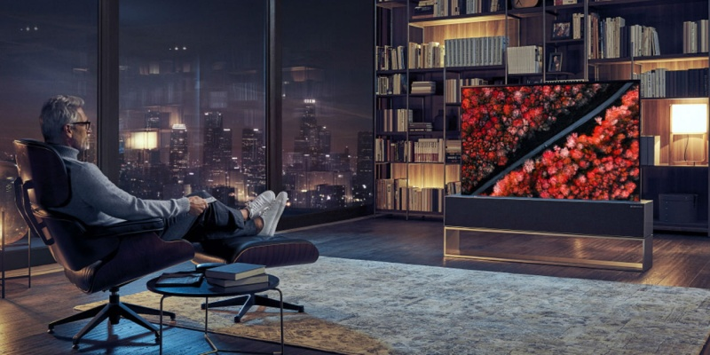 LG Signature R OLED Rollable TV - 8 futuristic products that you can only dream about (for now)