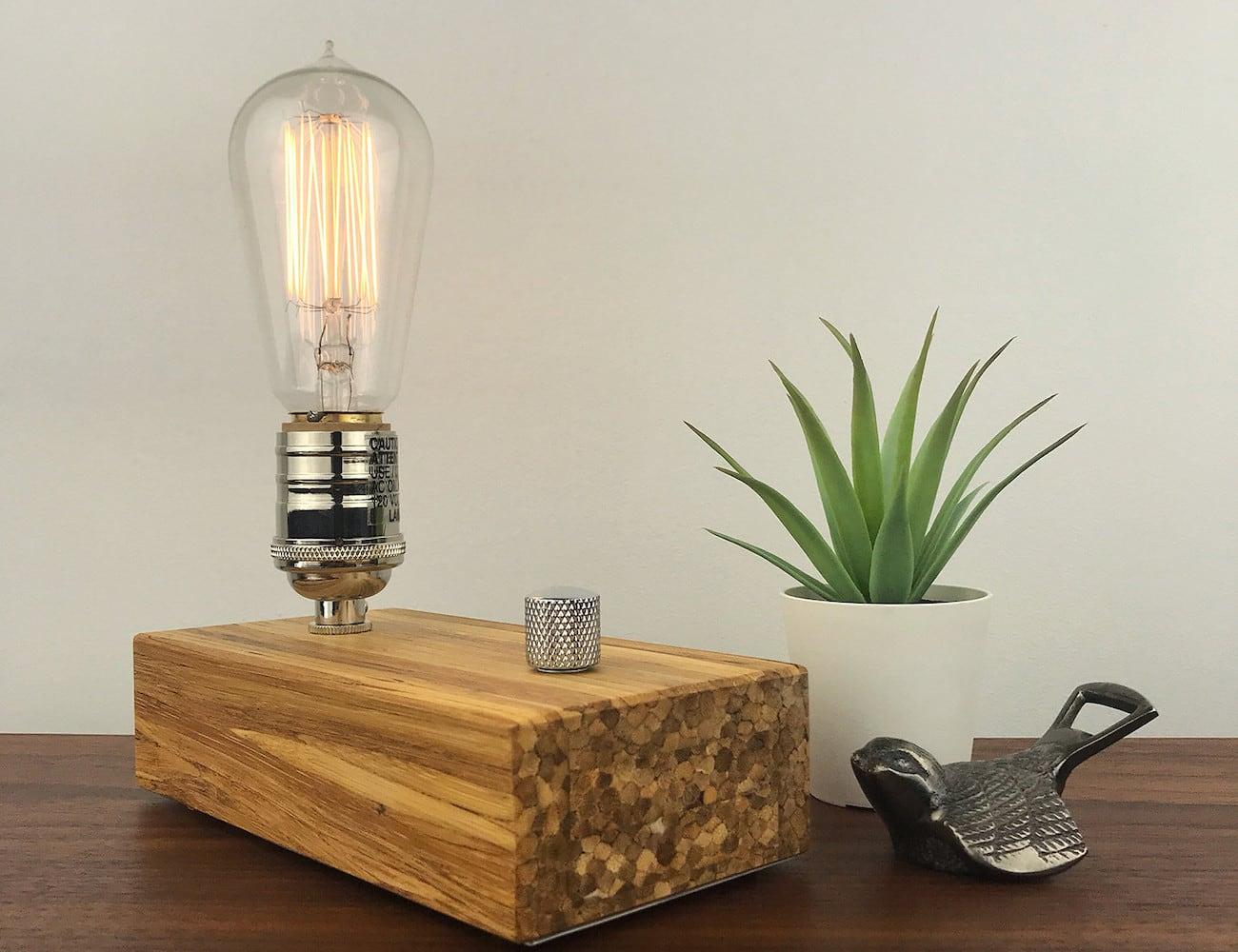 East Van Light X ChopValue Industrial Bamboo Lamps
