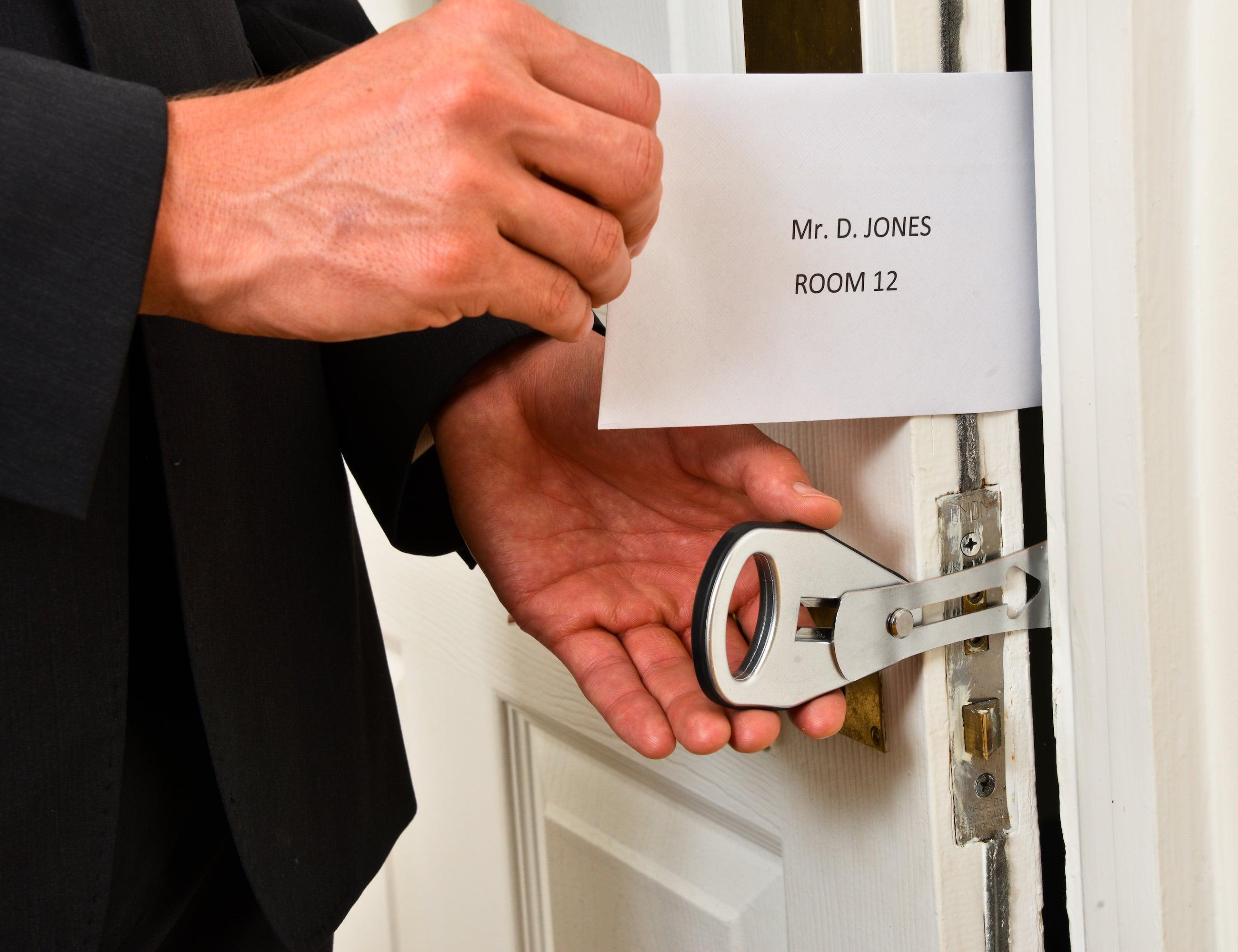 EasyLock Temporary Travel Door Lock