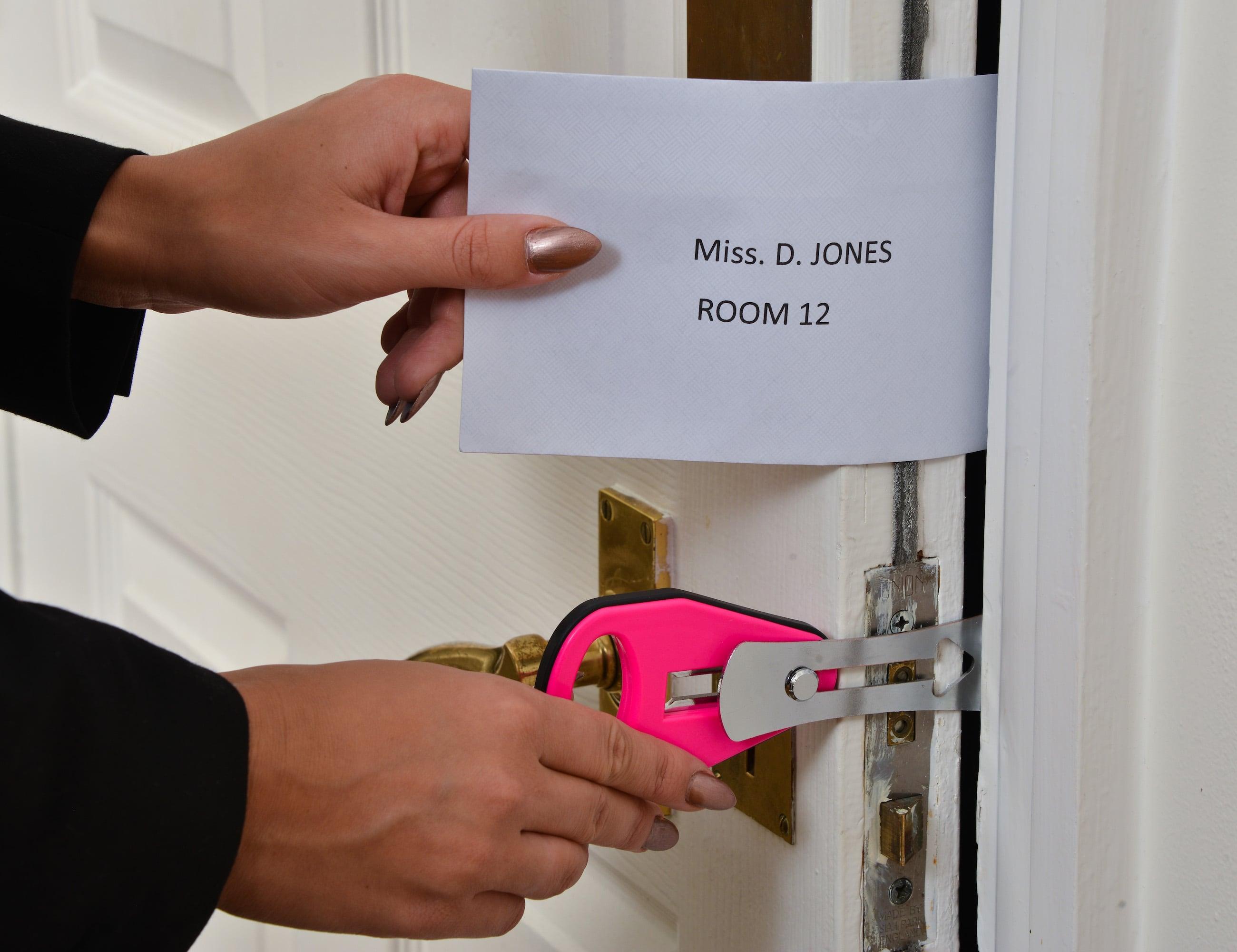 Easylock Temporary Travel Door Lock 187 Gadget Flow