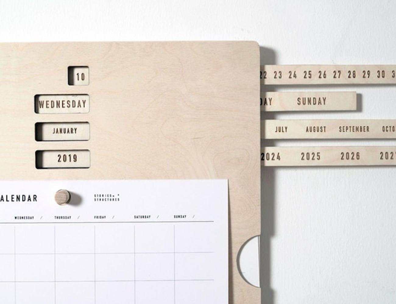Eternal Calendar Architecturally Designed Calendar