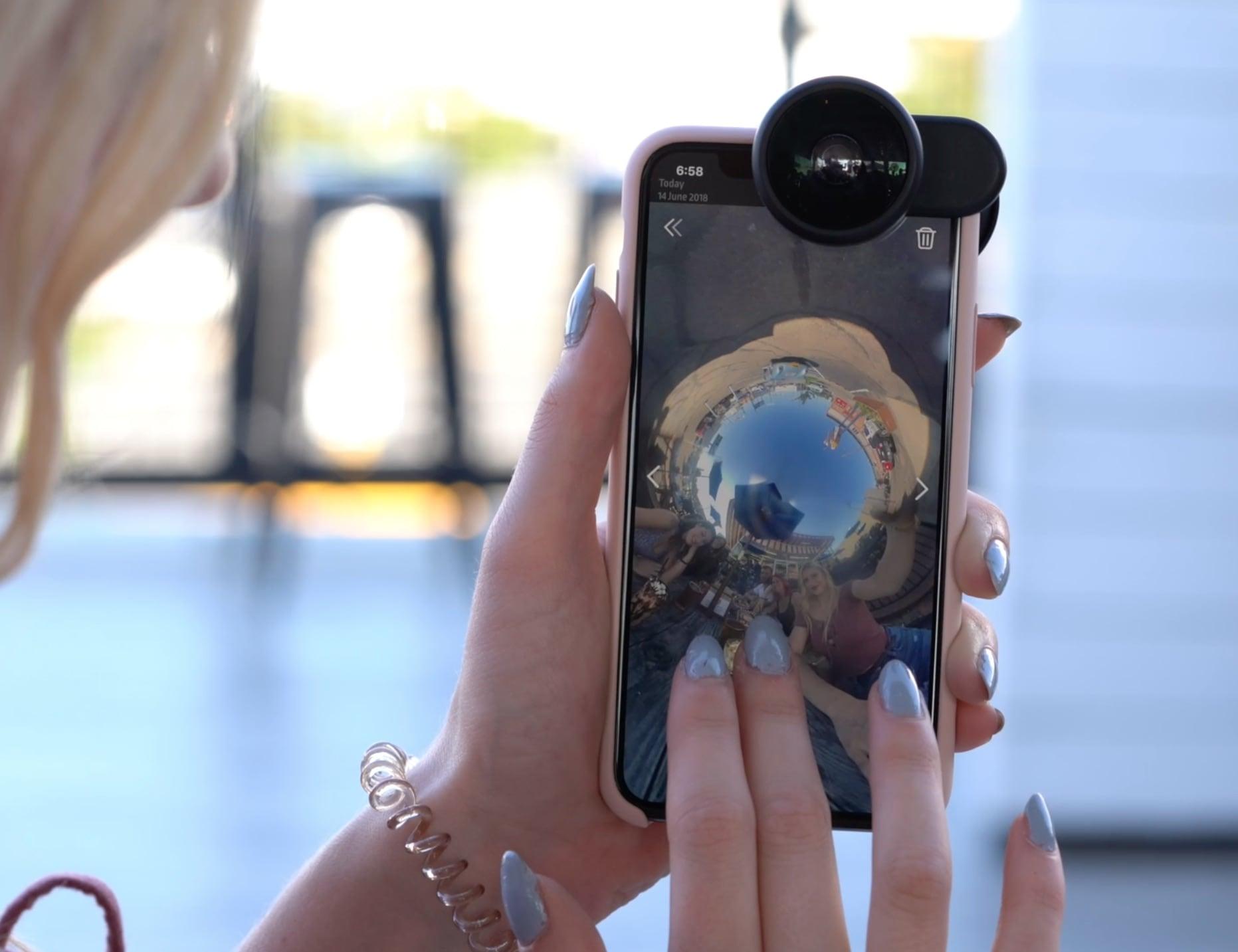 FusionLens 2.0 Cinematic iPhone Lens