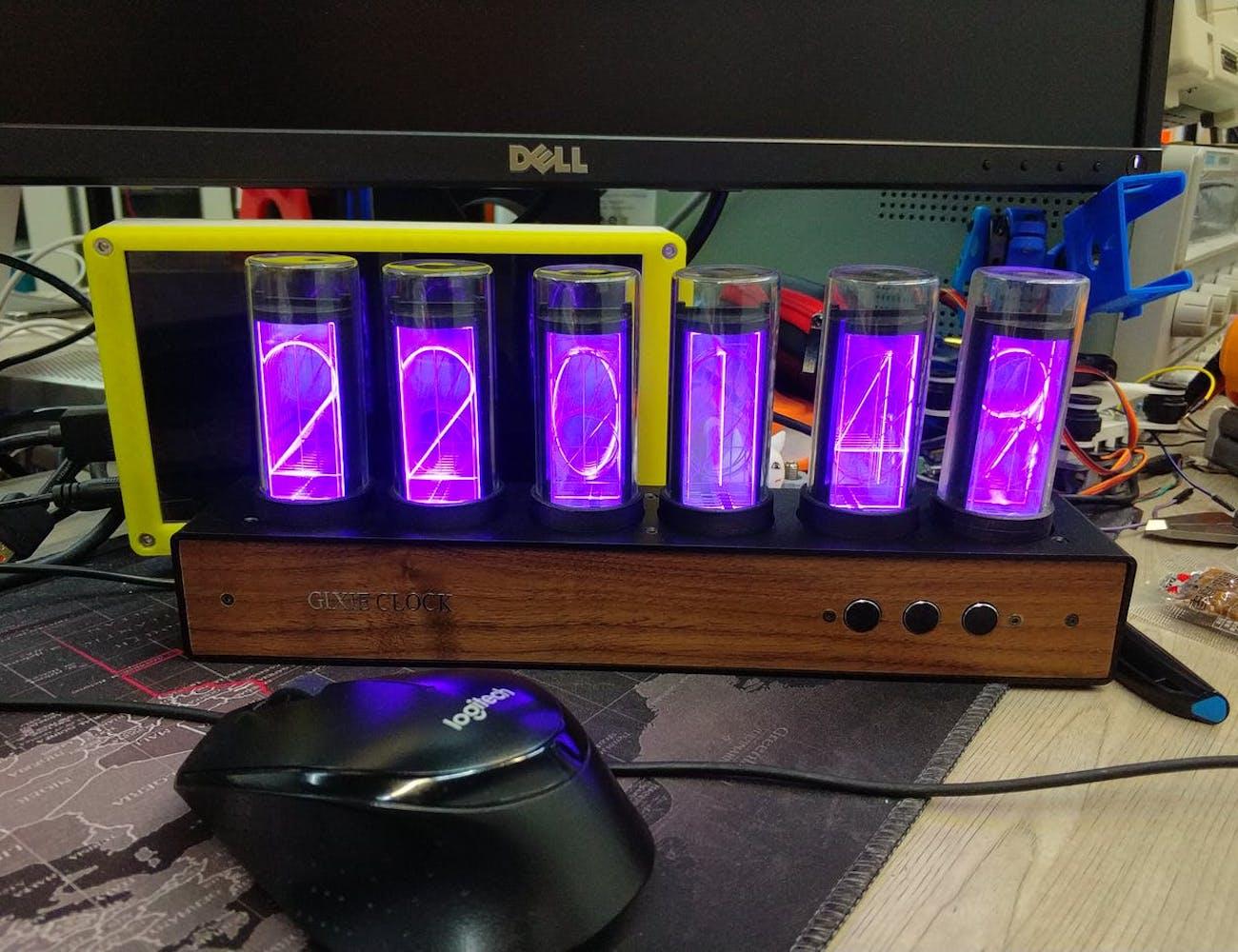 Gixie Clock Nixie Tube Clock