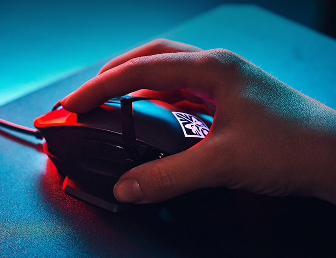 HP OMEN Reactor Optical-Mechanical Gaming Mouse