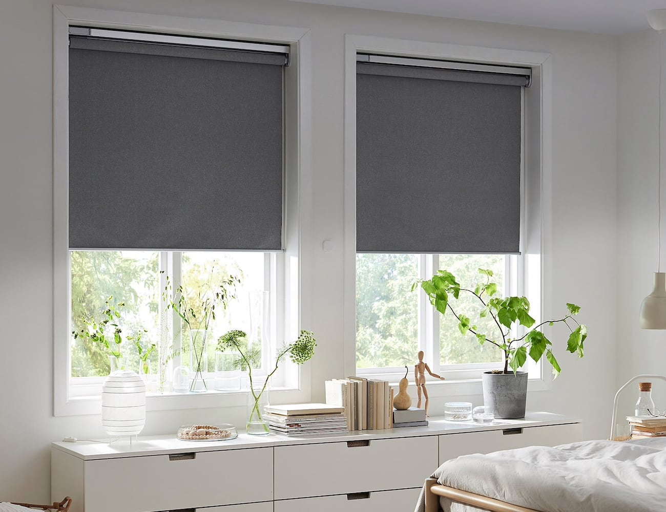 These IKEA Smart Window Blinds Let You Control Natural Light