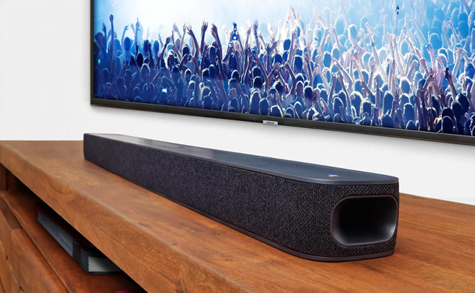 JBL Link Bar Android-Powered Soundbar is loaded with intregration