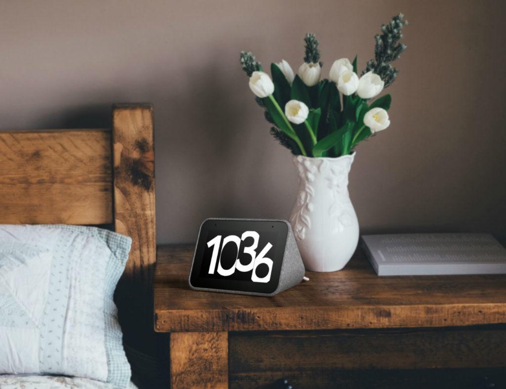Lenovo+Smart+Google+Assistant+Clock