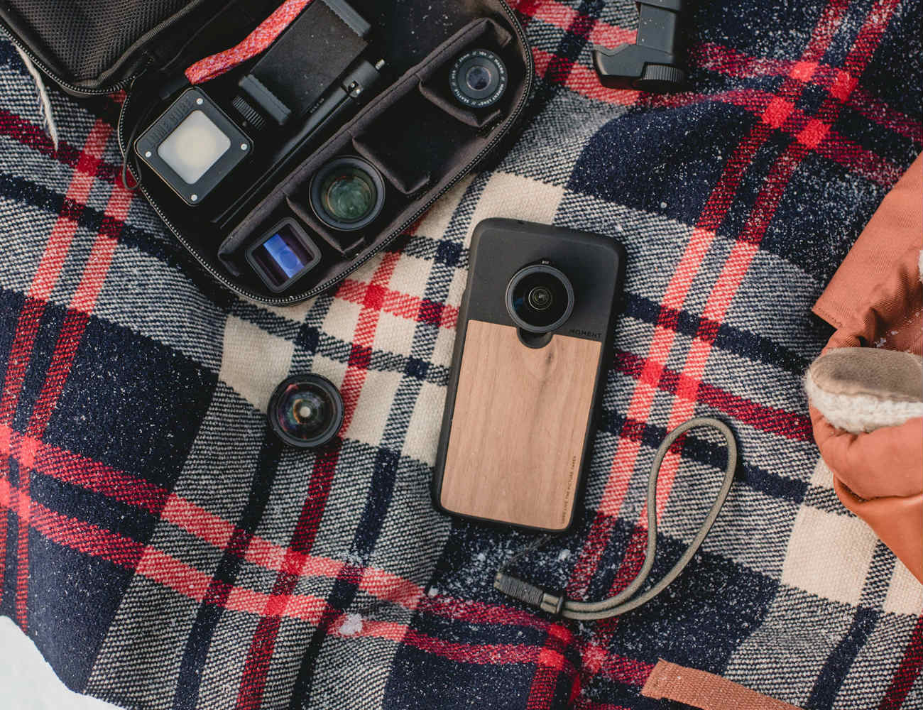 Moment One Plus 6 Case and Lenses