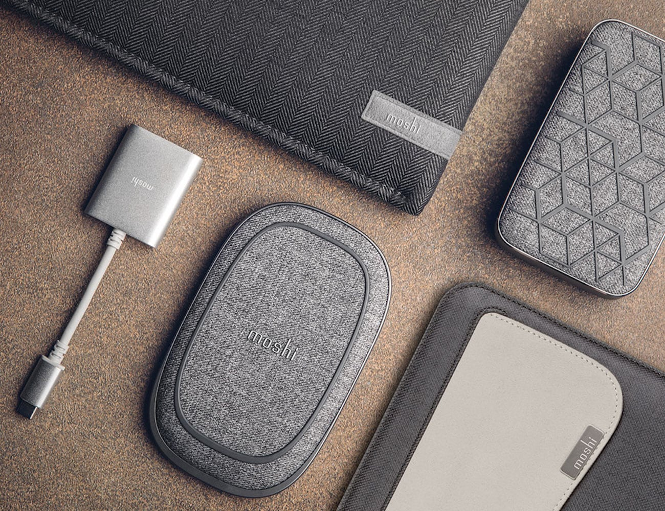 Moshi Porto Q 5K Stylish Portable Battery