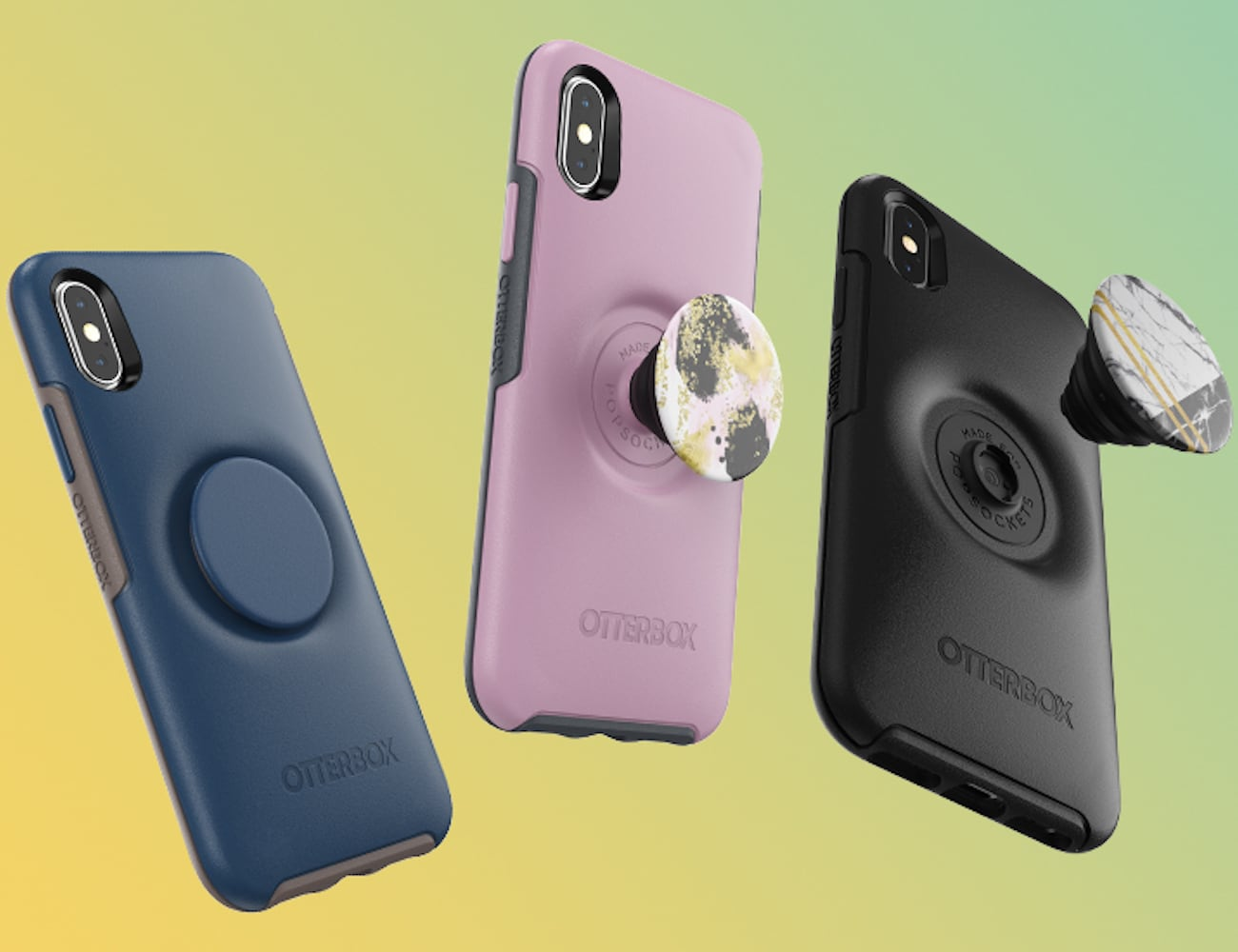 OtterBox x PopSocket Otter + Pop Grip iPhone Case