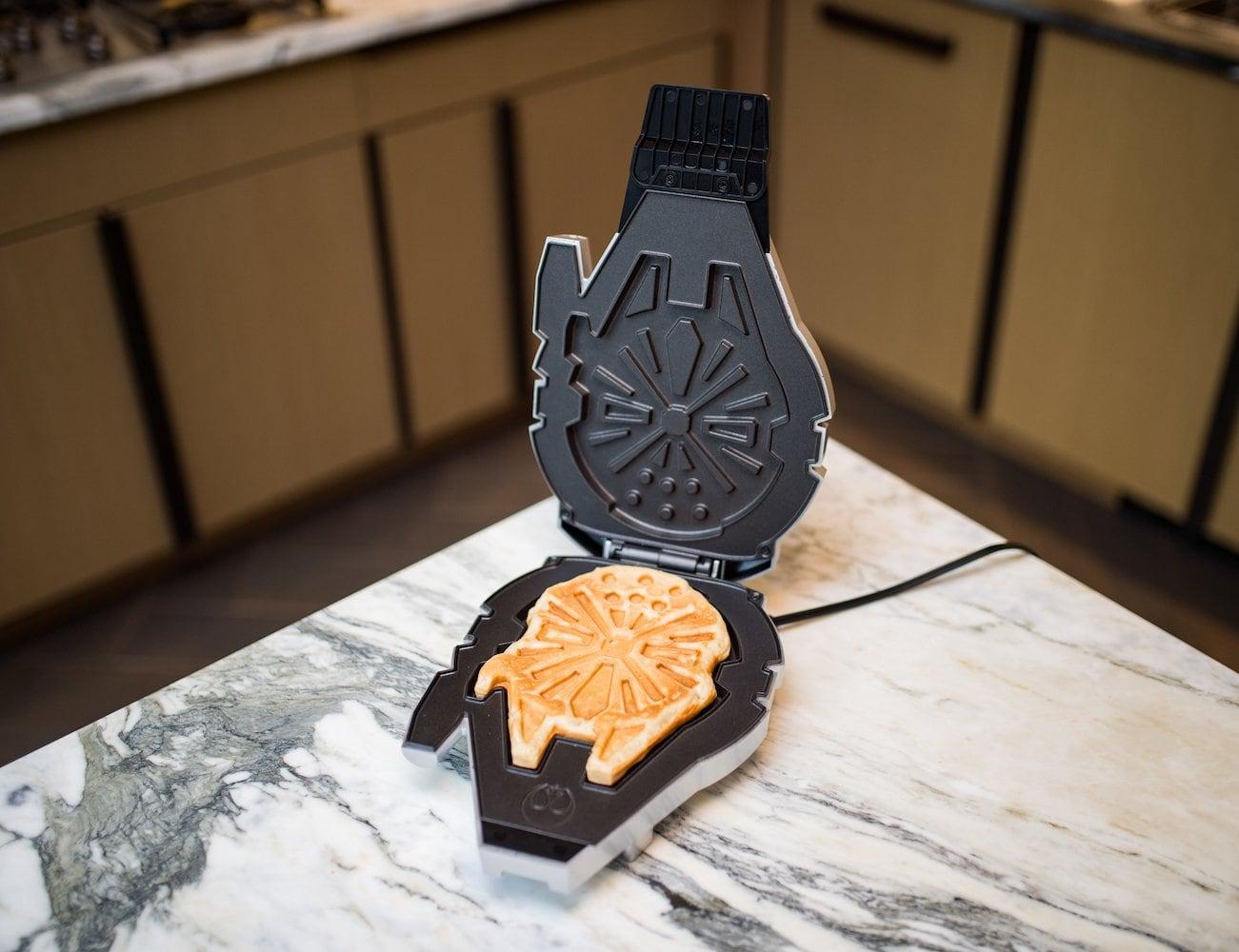 Pangea Brands Deluxe Millennium Falcon Waffle Maker