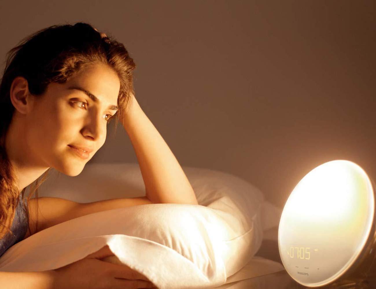 Philips HF3520 Wake-Up Light Alarm Clock