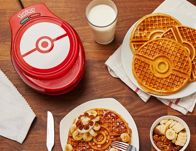 ThinkGeek+Pokemon+Poke+Ball+Waffle+Maker