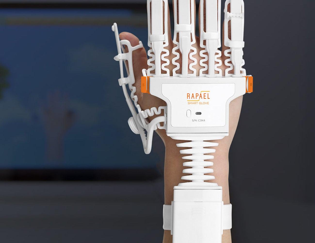 Rapael Smart Hand Rehabilitation Glove was designed for stroke survivors