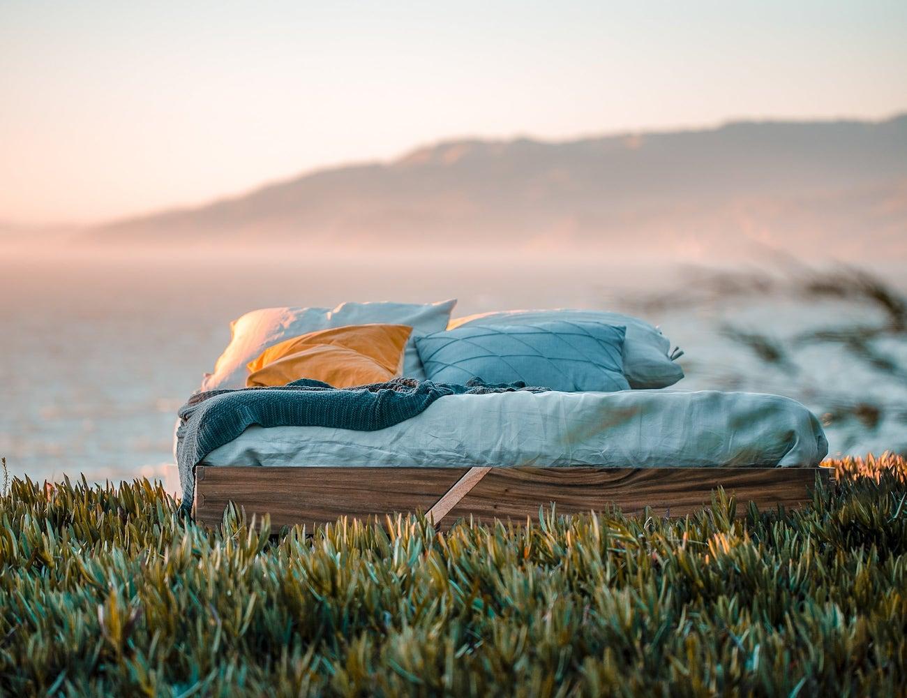 Slash/Bed Modern Bed Frame