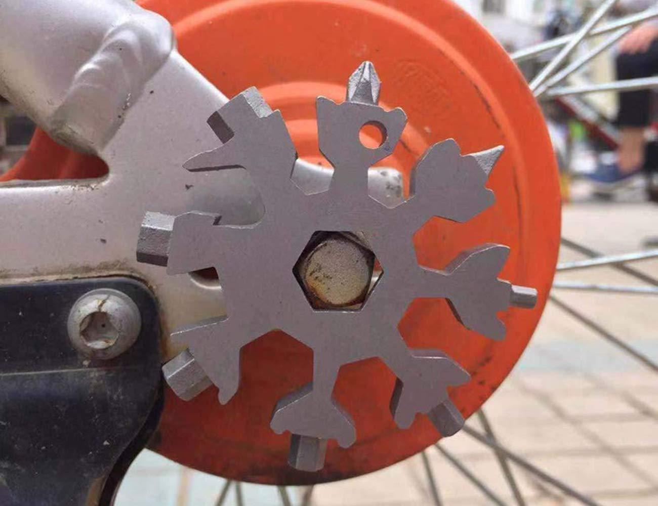 Snowflake Stainless Steel Multi Tool
