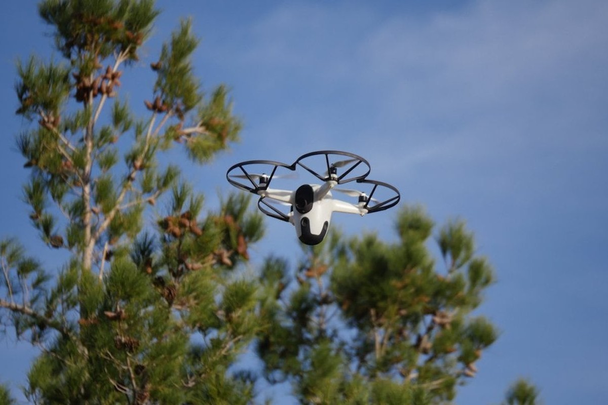 Sunflower Home Awareness System Drone Security Setup maintains a full view of your property