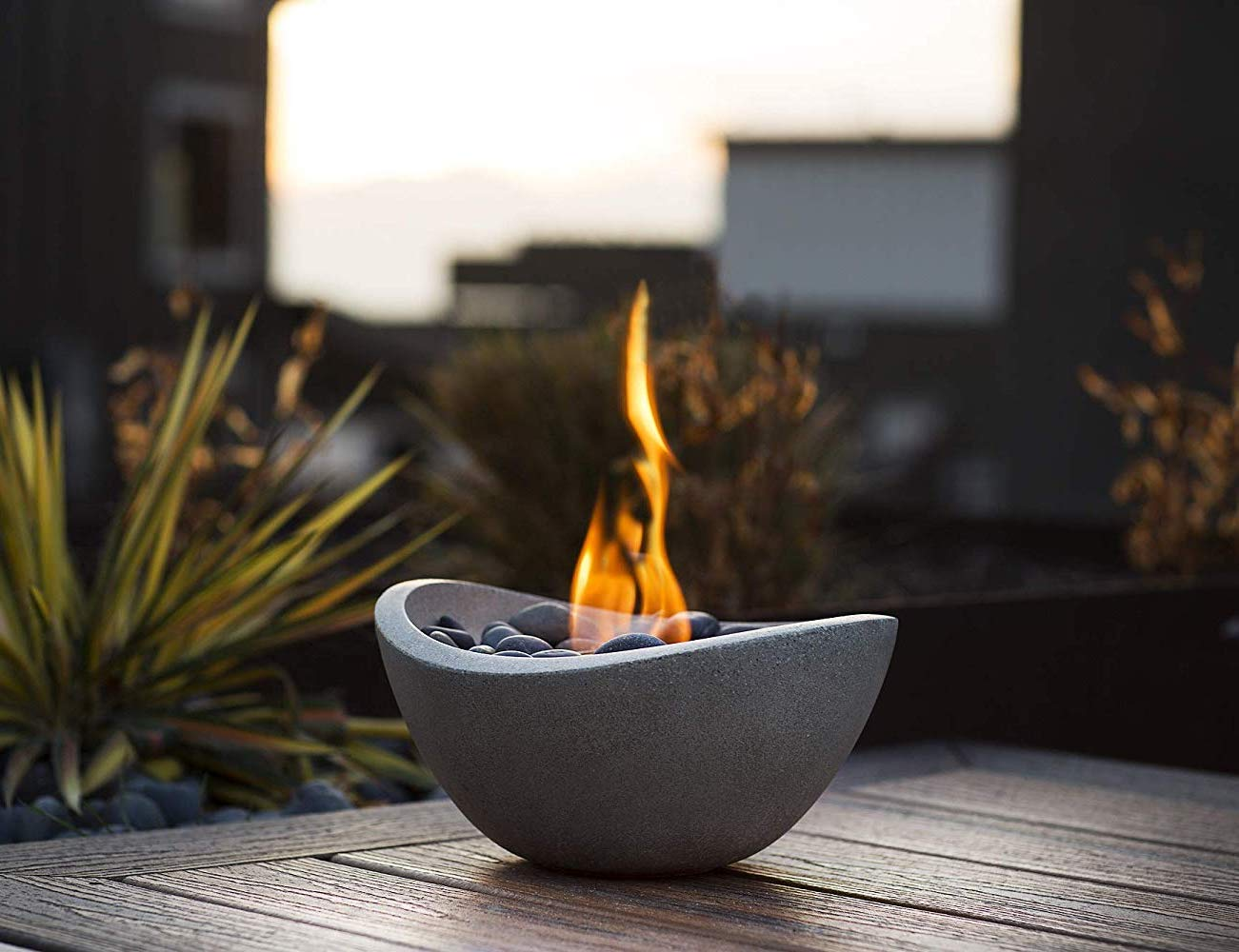 Terra Flame Wave Fire Bowl