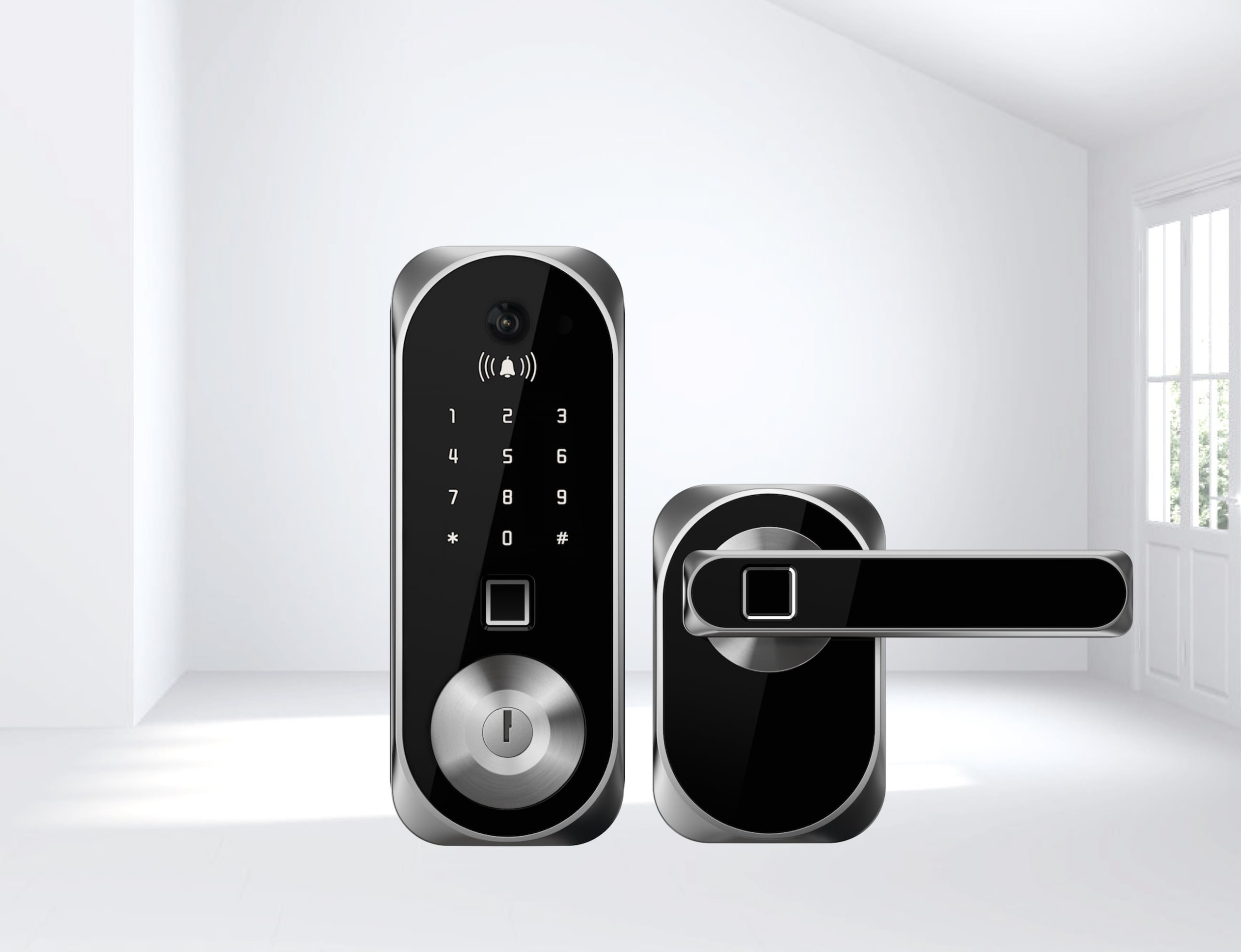 US:E Smart Camera Door Lock