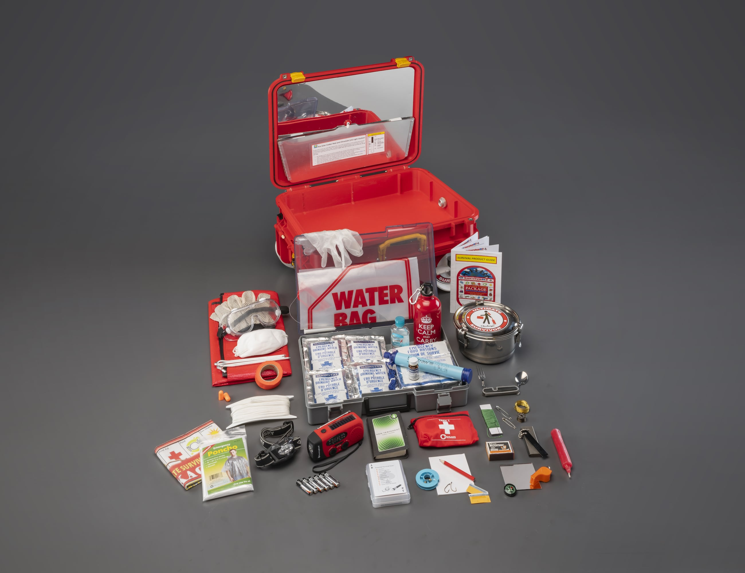 Ultimate Survivor Package – Survival, Camping, & Outdoor Gear