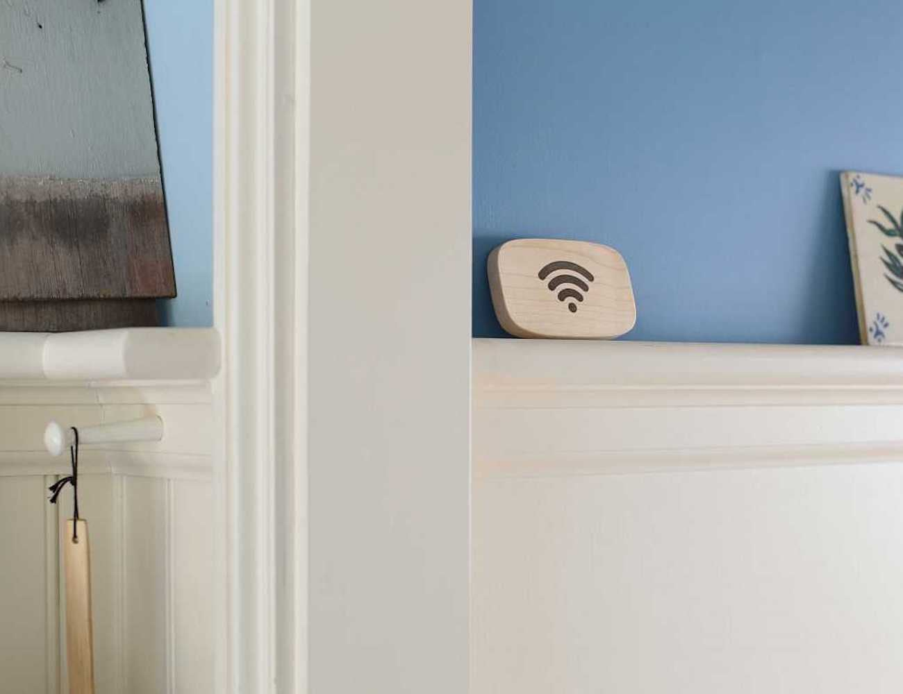 Wi-Fi Porter Wooden NFC Device