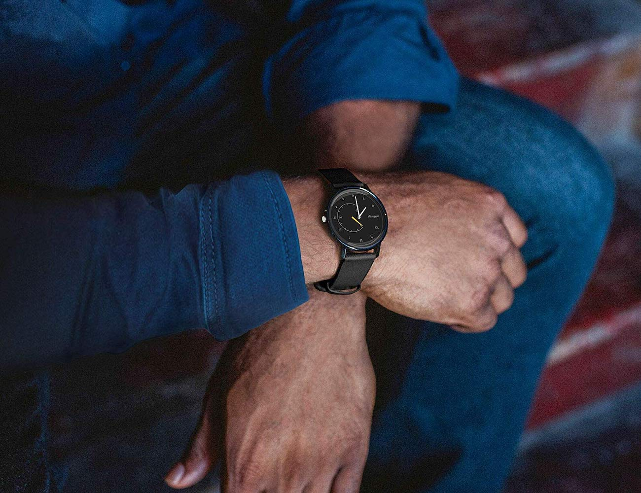 Withings Move Activity Tracking Watch looks more like a traditional watch