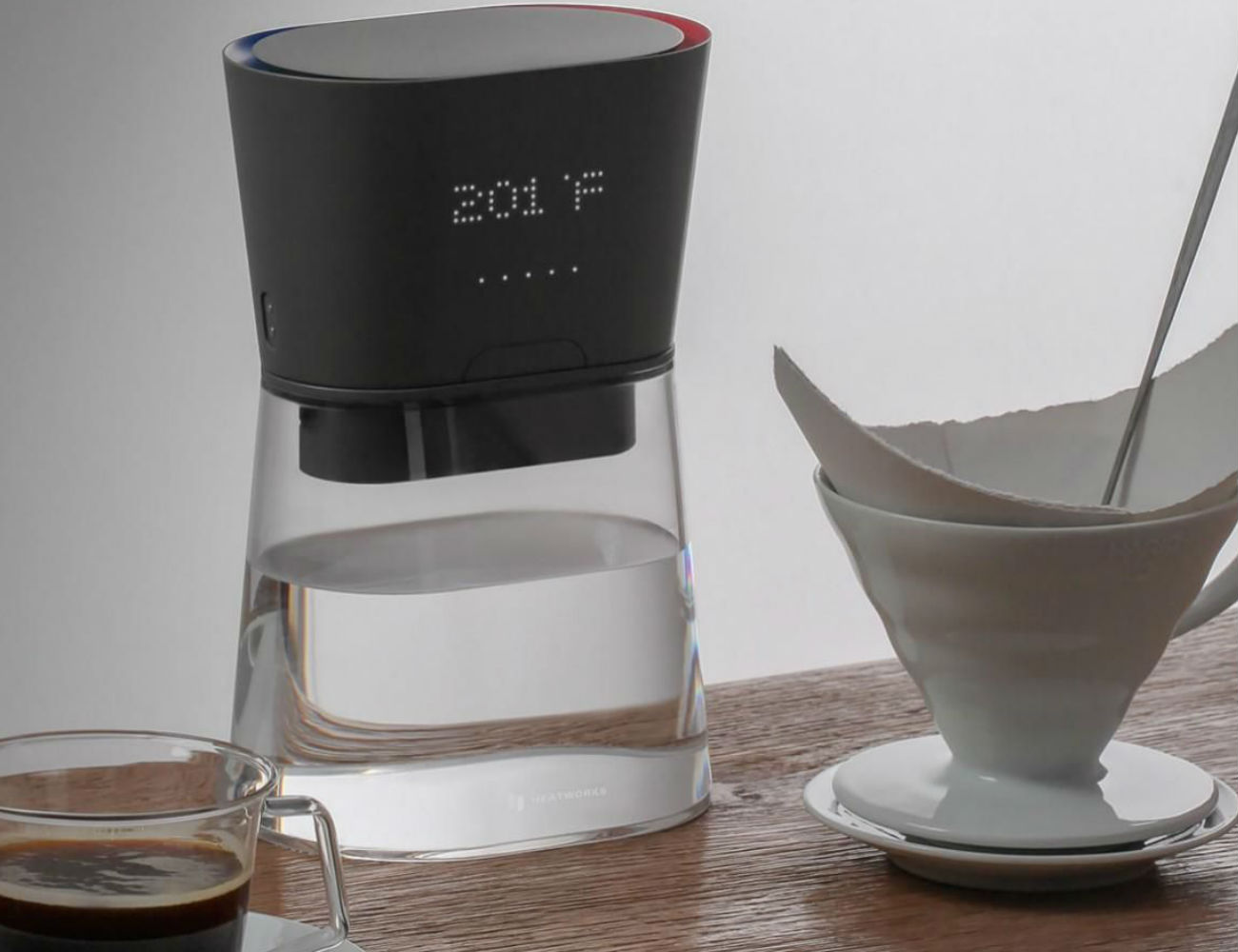 Heatworks DUO Water-Heating Carafe